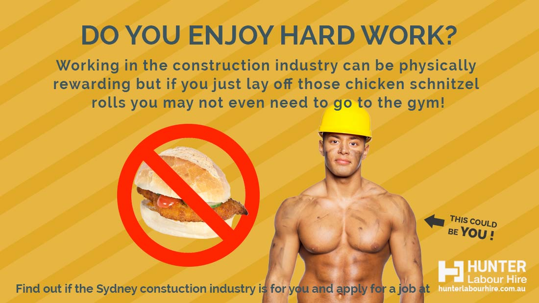 Benefits of working in construction industry - Hunter Labour Hire Sydney