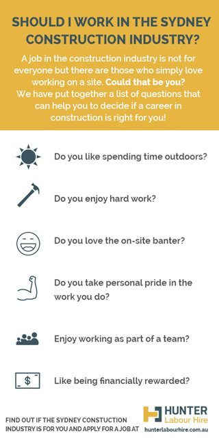 Is The Construction Industry For You - Hunter Labour Hire