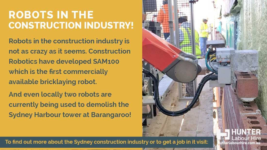 Robots in the Construction Industry - Hunter Labour Hire
