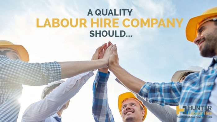 Quality Labour Hire Company - Hunter Labour Hire Sydney