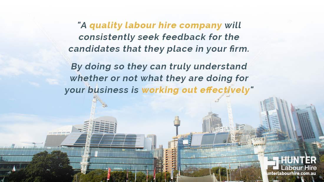 Quality Labour Hire Quote - Hunter Labour Hire