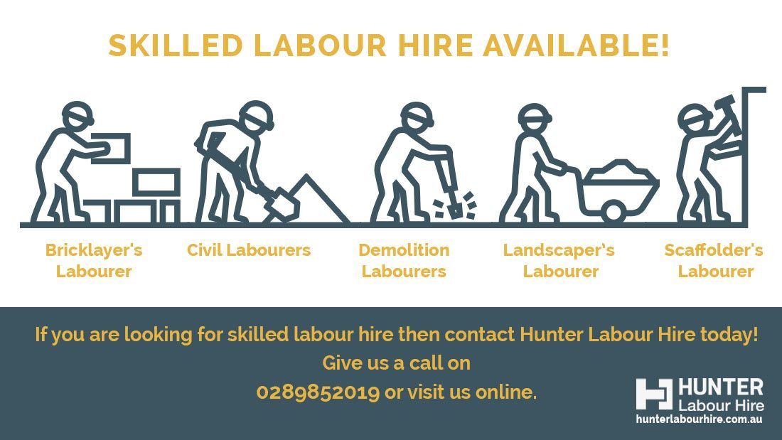 Skilled Labour Hire - Jobs Available - Hunter Labour Hire Sydney