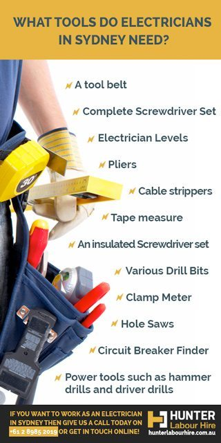 What Tools Do Electricians in Sydney Need - Hunter Labour Hire