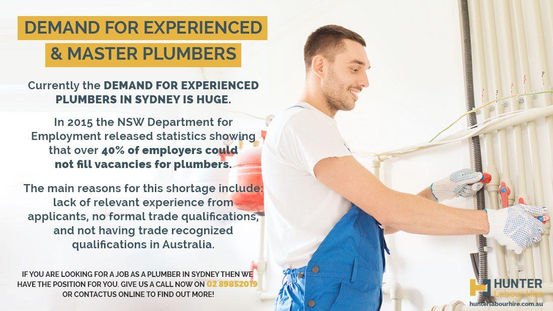 Plumbing Jobs in Sydney - Plumbers Required! | Hunter ...