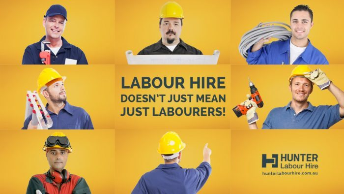Labour Hire Doesn't Just Mean Just Labourers - Hunter Labour Hire Sydney