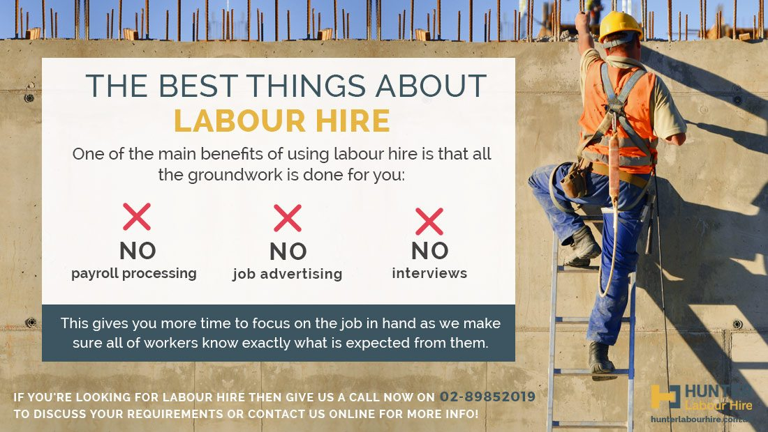 Benefits of Labour Hire - Labour Hire Agency Sydney