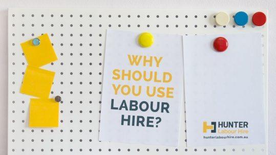 Why Should You Use Labour Hire - Hunter Labour Hire Sydney