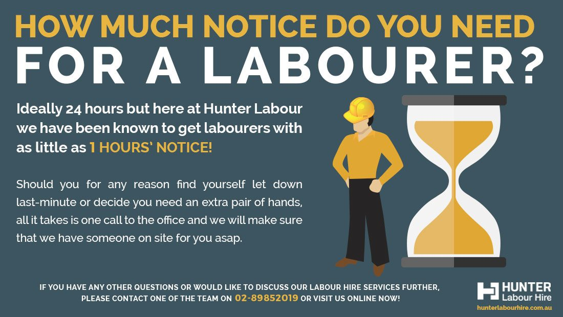 Labour Hire Sydney - How Much Time Needed To Hire A Labourer