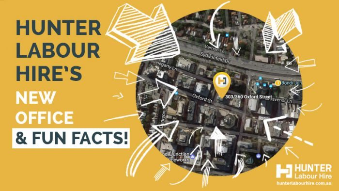 Hunter Labour Hire's New Office - Fun Labour Hire Facts
