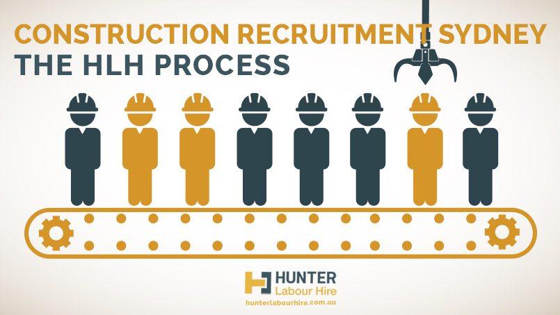 Construction Recruitment Sydney- The Hunter Labour Hire Process