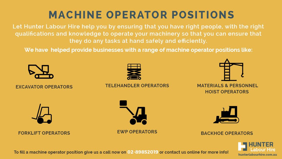 Machine Operators Positions - Machine Operator Jobs Sydney