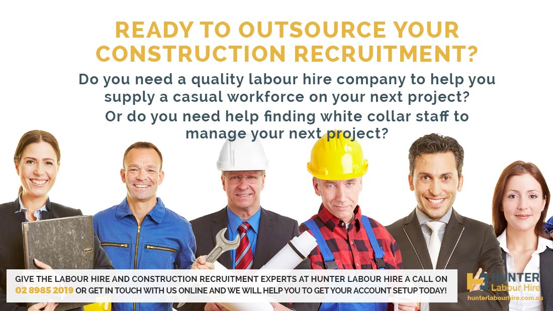 Outsource Construction Recruitment Sydney - Hunter Labour Hire