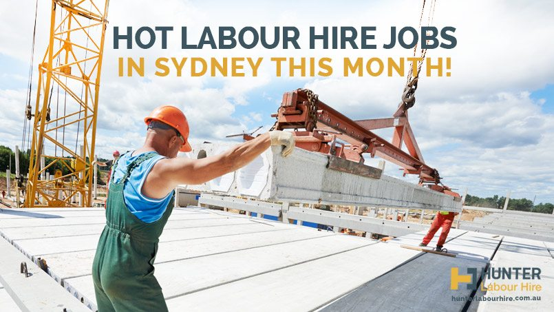Hot Labour Hire Jobs in Sydney This Month - Hunter Labour Hire