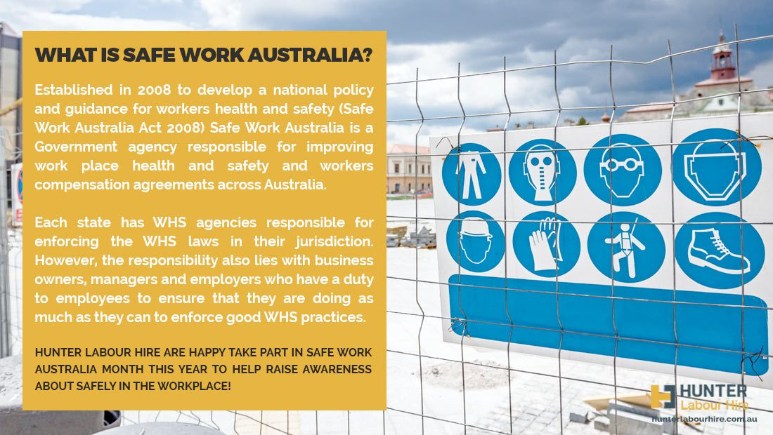 What is safe work month Australia - Hunter Labour Hire