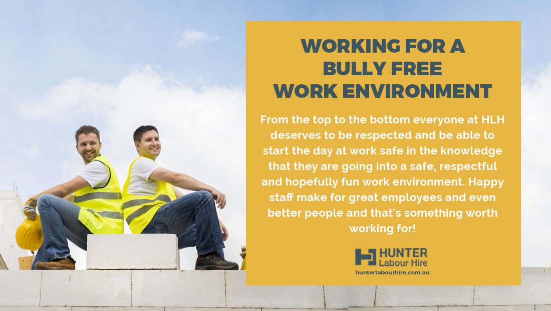 Hunter Labour Hire Bullying Policy