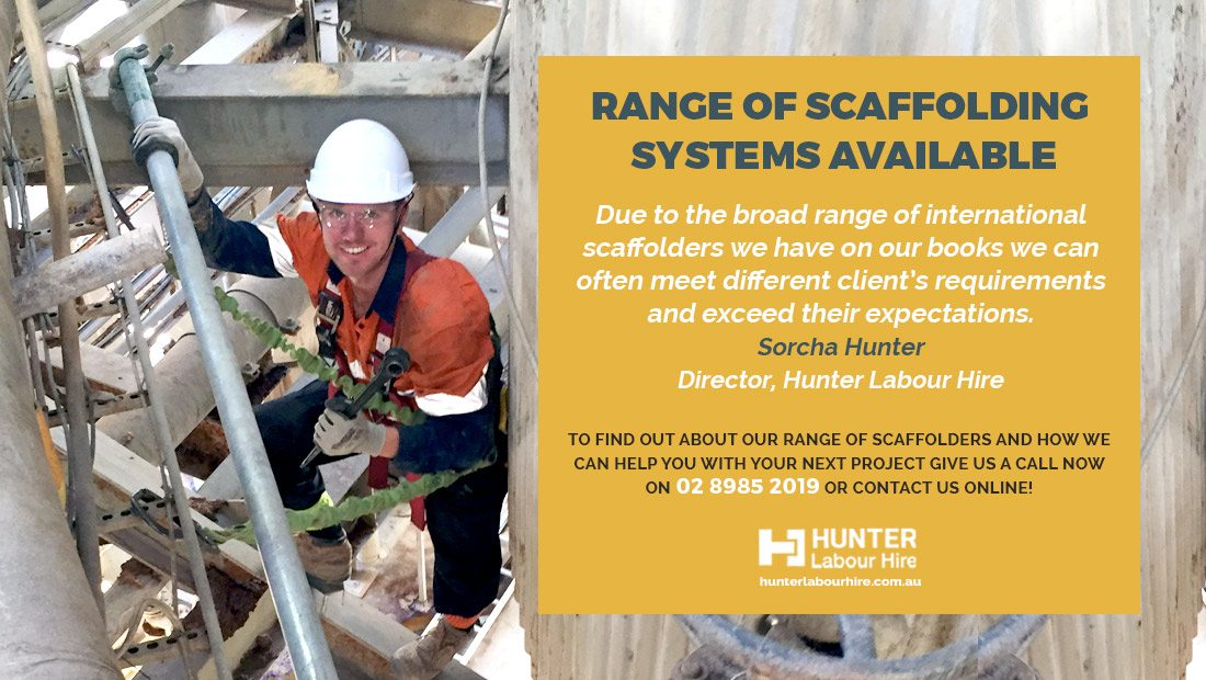 Scaffolding System Hire Sydney - Hunter Labour Hire