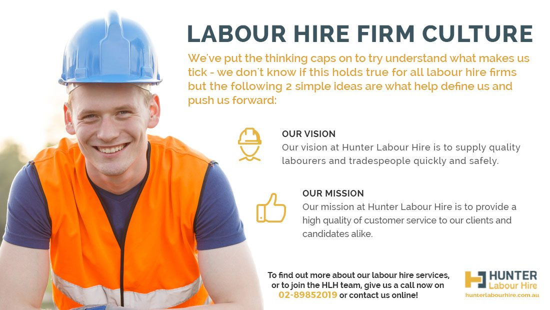 Labour Hire Firms Culture - Hunter Labour Hire Sydney
