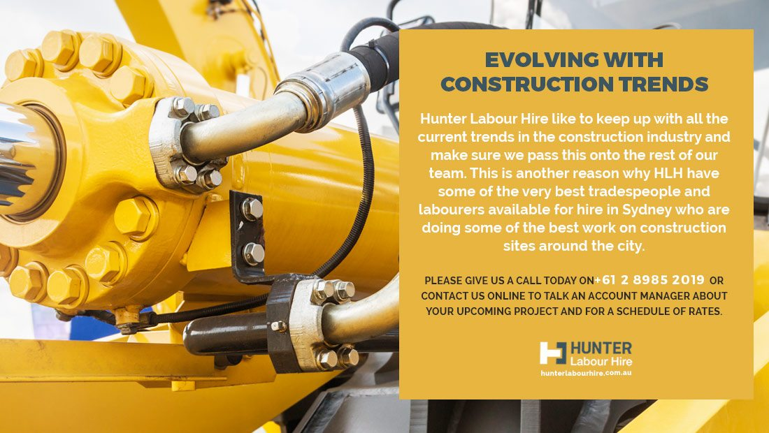 Evolving with Construction Trends - Hunter Labour Hire Sydney