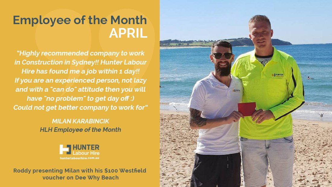Hunter Labour Hire Review - Milan Karabincik