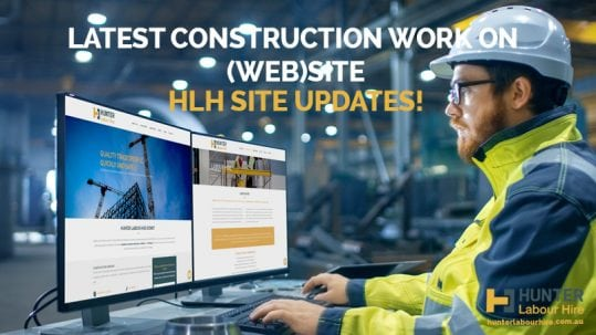 Hunter Labour Hire Site Updates