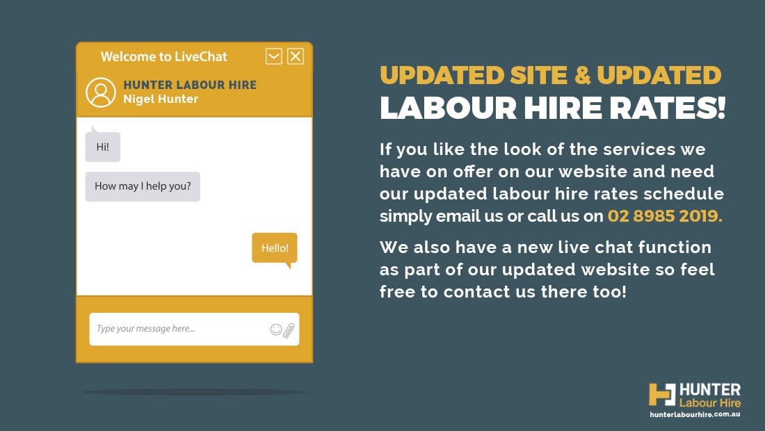 Labour Hire Rates from Hunter Labour Hire Sydney