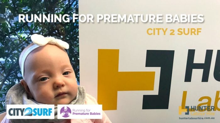 Running for Premature Babies - City2Surf Fundraisers