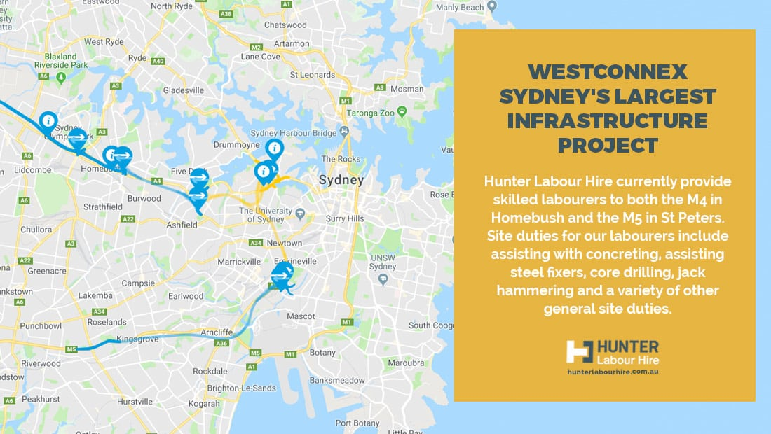 WestConnex - Sydney's Largest Infrastructure Project - Hunter Labour Hire