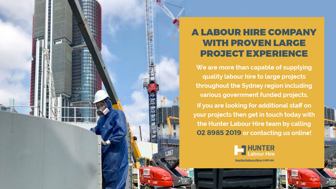 Labour Hire Company with Large Project Experience Sydney