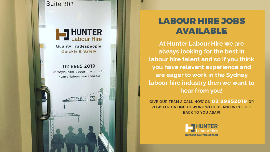 Labour Hire Jobs Available in Sydney Now