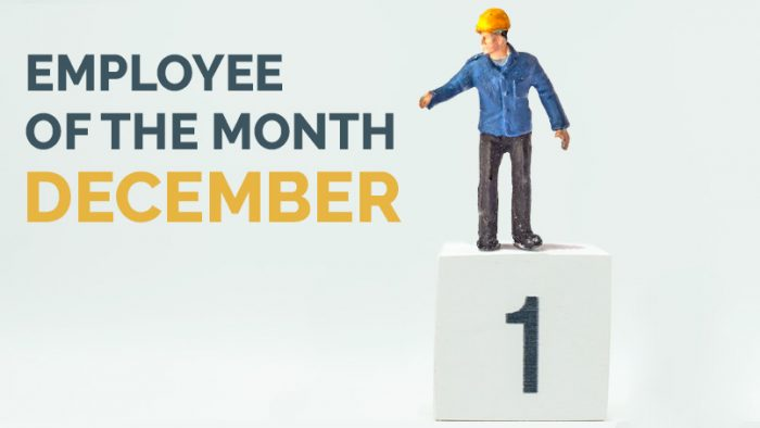 Employee of the Month - December - Hunter Labour Hire Sydney