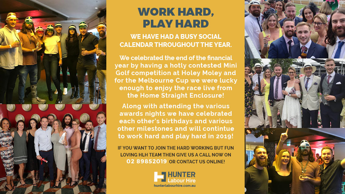 Hunter Labour Hire 2018 Year Highlights