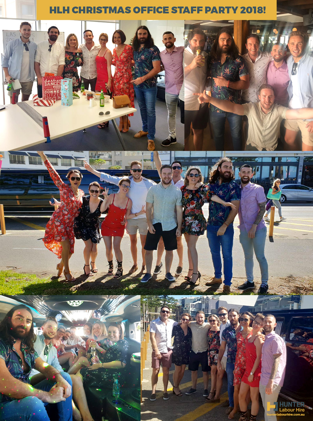 Hunter Labour Hire Christmas Office Staff Party 2018