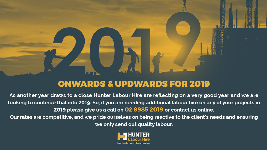 Labour Hire Plans for 2019 - HLH Sydney