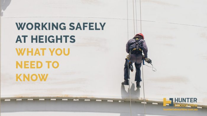 Working Safely at Heights - Hunter Labour Hire Sydney