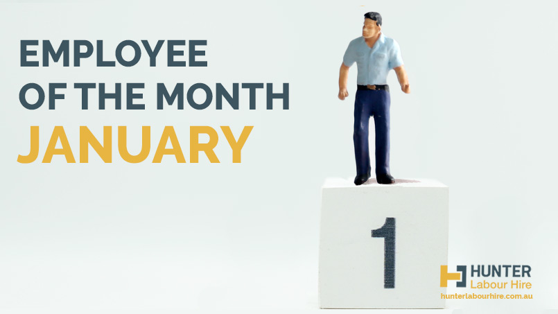 Employee of the Month - January - Hunter Labour Hire - Mark Marini