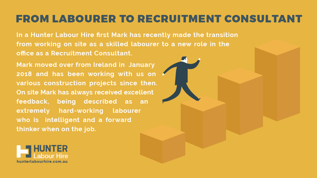 From Labourer to Recruitment Consultant - Hunter Labour Hire Sydney