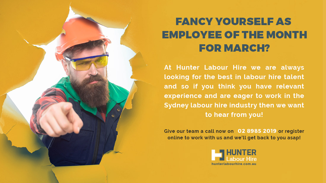 Labour Hire Jobs Available in Sydney - Hunter Labour HIre