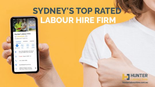 Sydney's Top Rated Labour Hire Firm - Hunter Labour Hire
