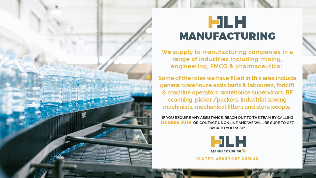 Manufacturing Labour Hire Sydney - HLH Group