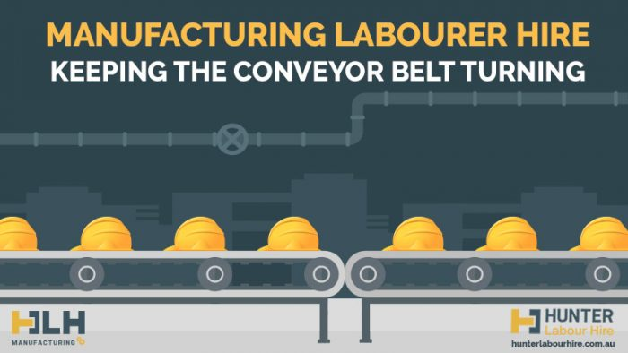 Manufacturing Labourer Hire Sydney - Keeping The Conveyor Belt Turning