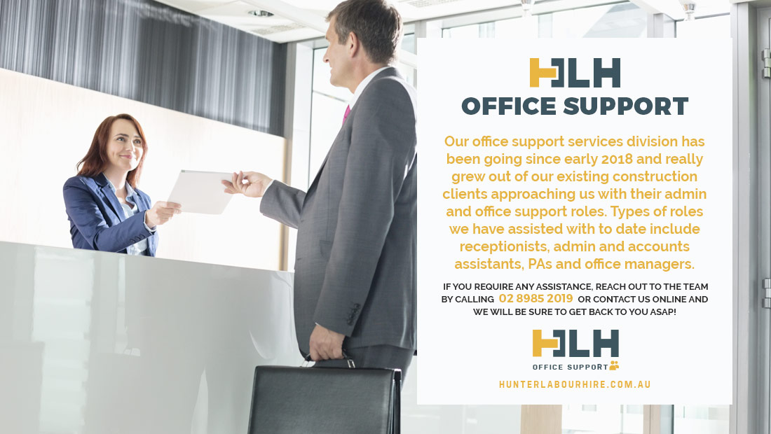 Office Support Services Sydney - HLH Group