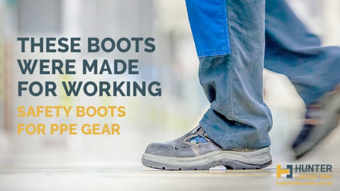 Safety Boots for PPE Gear - Hunter Labour Hire Sydney