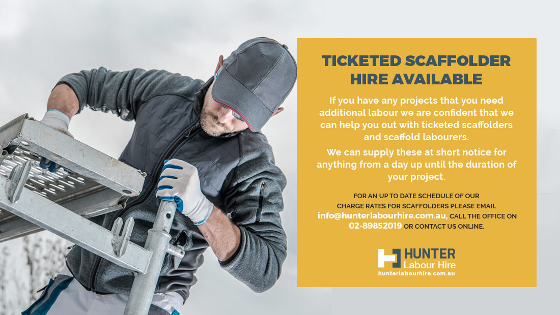 Ticketed Scaffolder Hire Sydney - Hunter Labour Hire