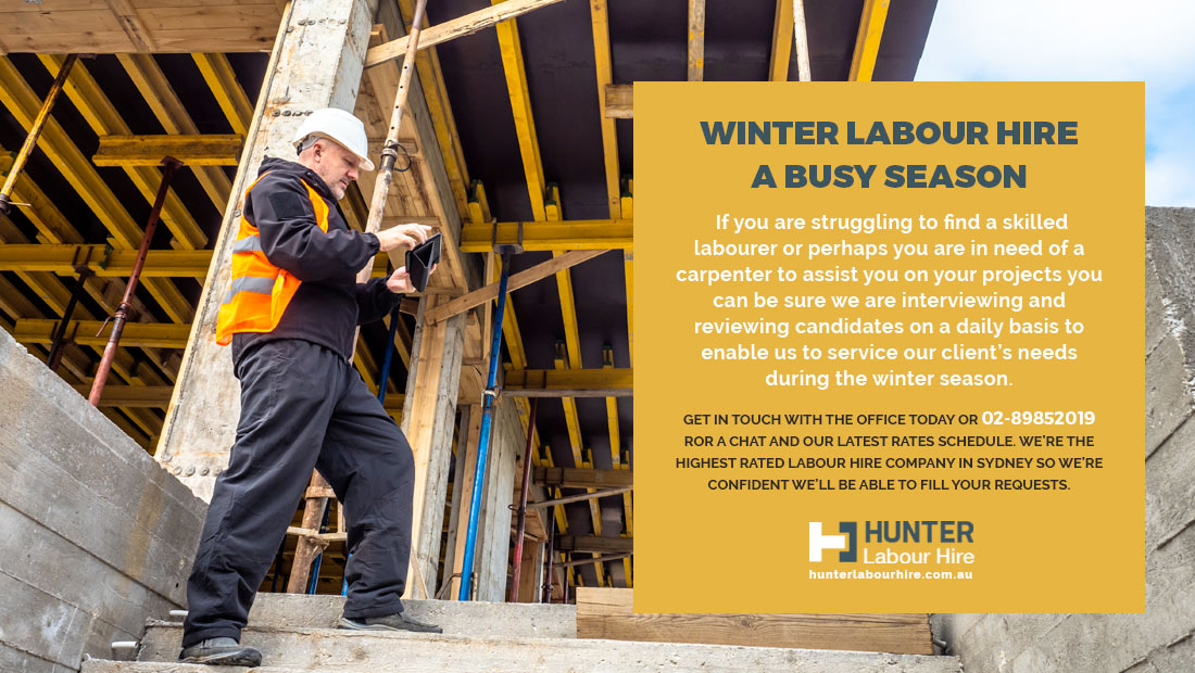 Winter Labour Hire - A Busy Season - Hunter Labour Hire Sydney