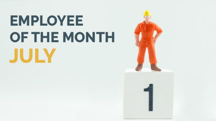 Employee of the Month - July 2019 - Hunter Labour Hire Sydney