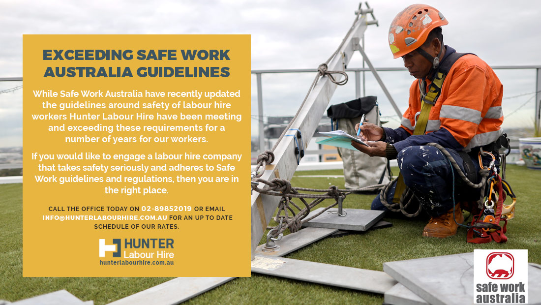Exceeding Safe Work Australia Guidelines
