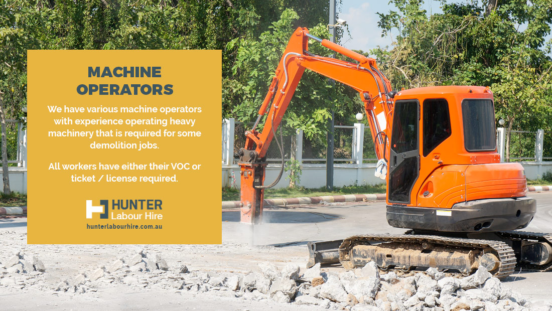 Machine Operators - Hunter Labour Hire Group