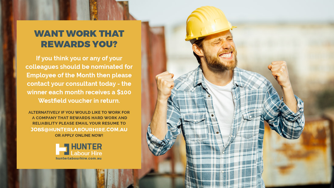 Rewarding Labour Hire Jobs Sydney - Hunter Labour Hire