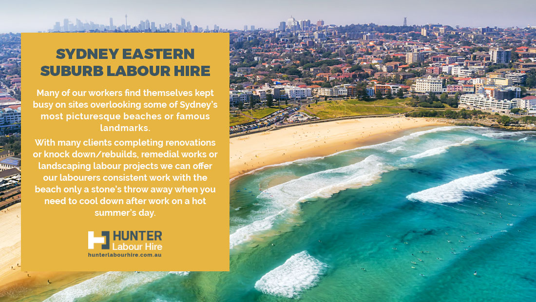 Sydney Eastern Suburbs Labour Hire - Bondi Beach