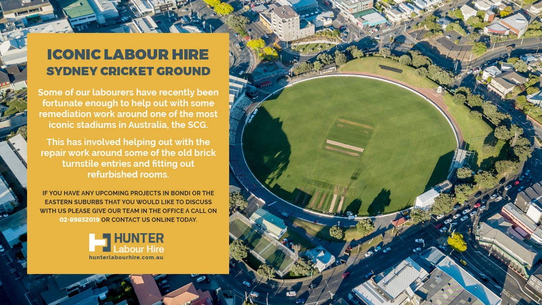 Sydney Eastern Suburbs Labour Hire - Sydney Cricket Ground